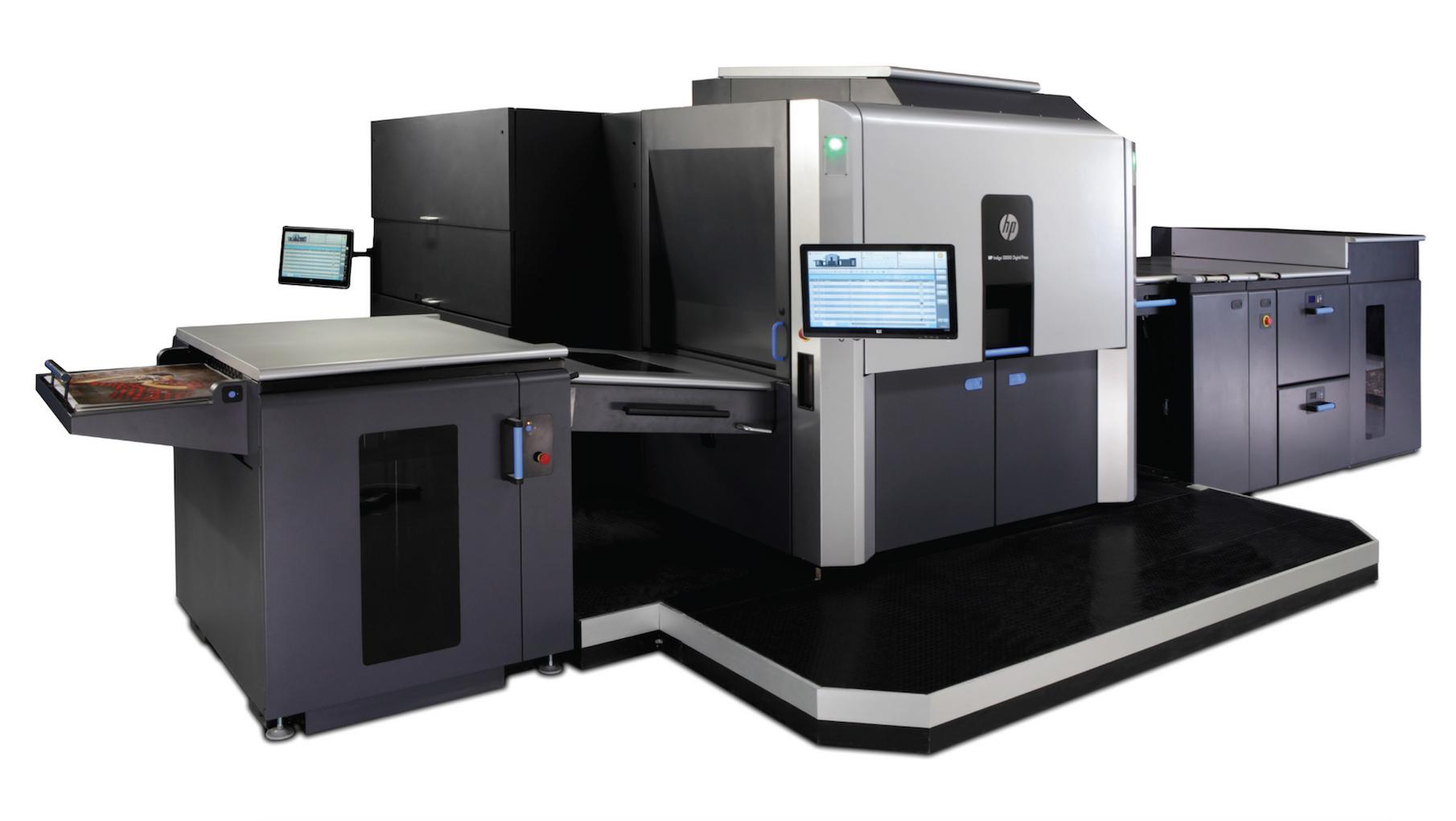 Awake the Titan, Blooming Color\'s HP Indigo 10000 Digital Press |